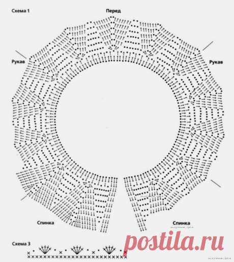 схемы кокеток крючком | Записи в рубрике схемы кокеток крючком | Дневник Галина_Кирсанова