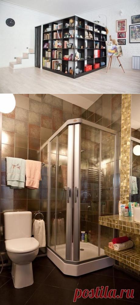 Питерская однушка в 50 м², нарастившая еще этаж - Дизайн интерьеров   Идеи вашего дома   Lodgers