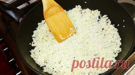 Необычный гарнир из обычного риса: муж просит готовить не менее 3 раз в неделю, вот так! — Смотреть в Эфире Гарнир из риса. Очень вкусный рис на гарнир! Готовится просто, быстро и всегда удачный результат, даже из дешевого риса! Попробуйте. Всё в одной сков…