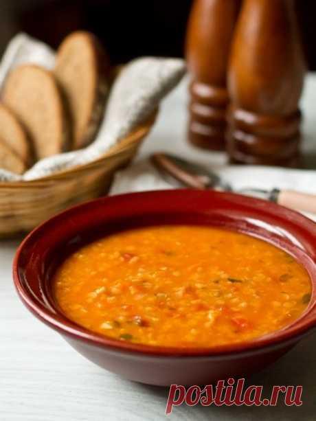 Рецепт супа из красной чечевицы с тыквой на Вкусном Блоге