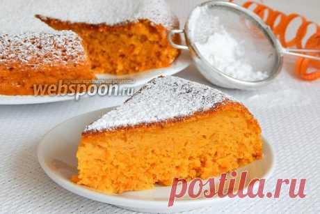 Морковный бисквитный пирог в мультиварке  Морковный пирог в мультиварке  И снова у меня оранжевое настроение, поэтому готовлю морковный пирог. Помогает мне чудо-кастрюлька — мультиварка.  Вообще, изначально хотела назвать пирог морковным бисквитом (из-за состава), но решила объединить названия и получился бисквитный пирог.  Готовое лакомство имеет одни достоинства — он не только насыщенного цвета, но и сладкий, очень сочный из-за морковного сока и необыкновенно вкусный! Пи...