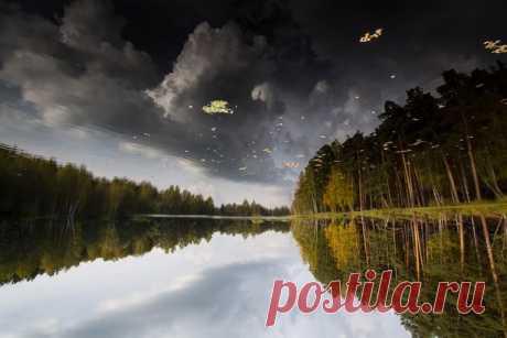 Озеро Щучье, Урал. Автор фото — Сергей Гарифуллин: nat-geo.ru/photo/user/162554/