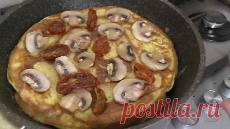 Батон и яйца! И больше пиццу не заказываю / Невероятная вкуснятина из простых продуктов