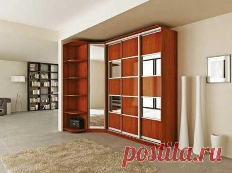 Готовый угловой шкаф-купе в спальню купить по цене 52 000 руб. в Москве— интернет магазин chudo-magazin.ru