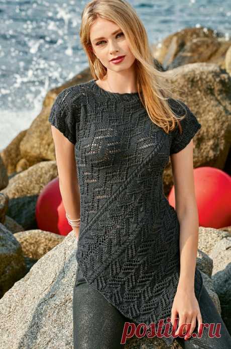 Асимметричный джемпер (Diy) Модная одежда и дизайн интерьера своими руками
