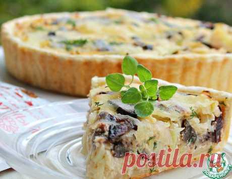 """Открытый пирог с капустой""""Необычный"""" – кулинарный рецепт"""