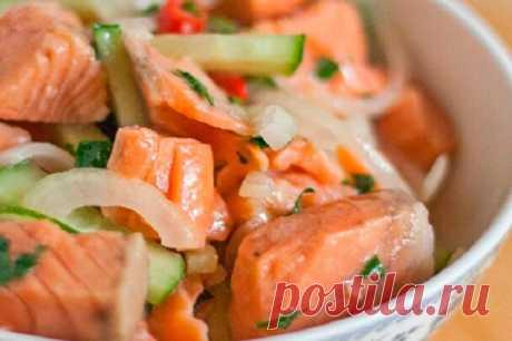 Рыбный салат по-корейски, который съедается моментально благодоря удачному маринаду | Вкусно всем | Яндекс Дзен