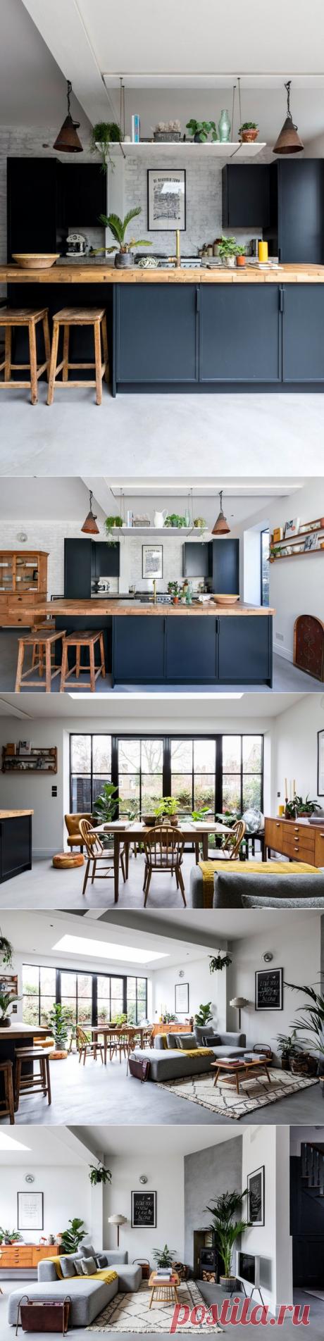Современный дом с оттенком скандинавского стиля в Лондоне - Дизайн интерьеров | Идеи вашего дома | Lodgers