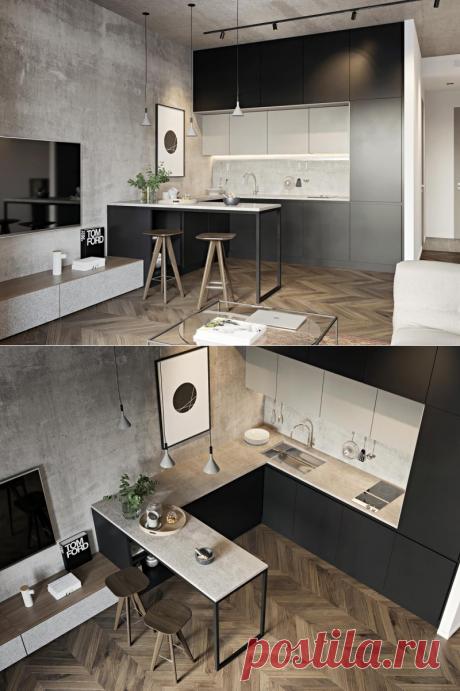 Минималистичный интерьер квартиры площадью 60 кв.м. — Lodgers - Дизайн интерьера