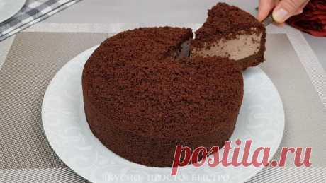 Райский торт с творожным кремом. Простой рецепт творожного торта без выпечки | Вкусно Просто Быстро | Яндекс Дзен
