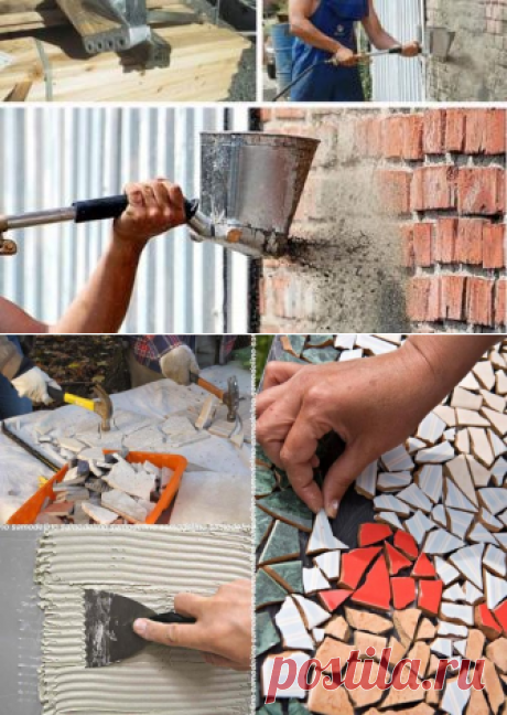 Садовые дорожки 🚶 своими руками с малыми затратами на даче из подручных материалов, фото