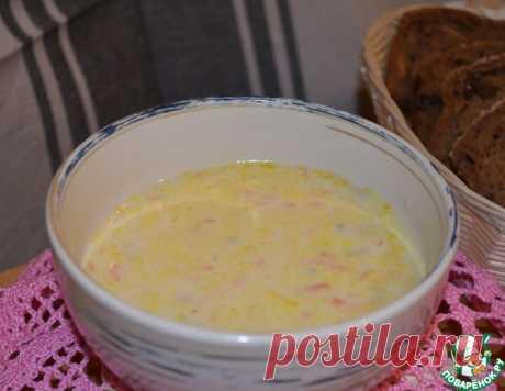 Сырный суп с грибами – кулинарный рецепт
