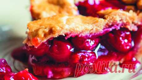 """Cherry pie in Californian: the recipe of a refined delicacy Such pie always turns out incredibly appetizing regardless of that, from fresh or from the frozen berries it was prepared. it is provided by nuclear heating plant publishing house \""""They say that the recipe prikochevat from sh …"""