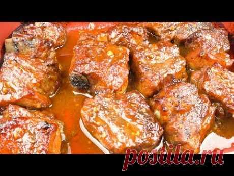 Cвиные ребрышки по канадски | Pork ribs  in canadian