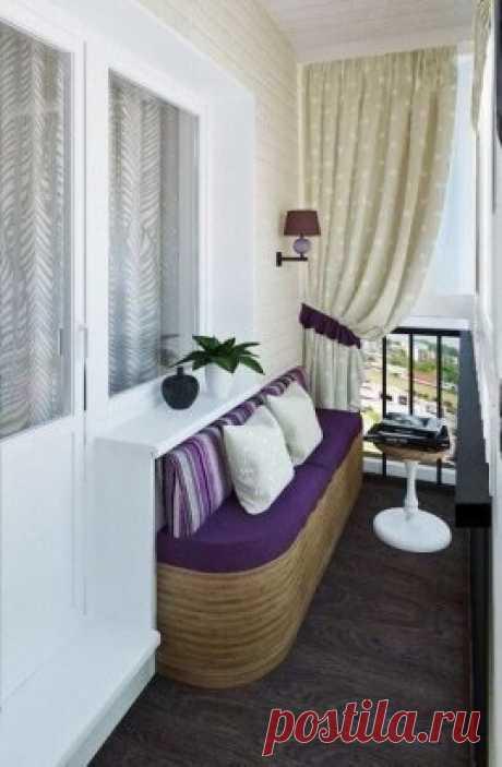 Un pequeño balcón
