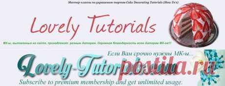 """МК-ы """"Колбаски из полимерной глины"""" -Polymer Clay Cane Tutoria - Мастер-классы по украшению тортов Cake Decorating Tutorials (How To's) Tortas Paso a Paso"""