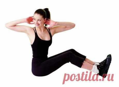 Техника выполнения упражнений для похудения (сброса веса) живота, боков и низа спины