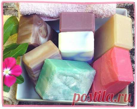 Как сварить полезное мыло из детского