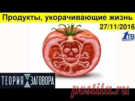 """La teoría del complot. \""""Los productos, que reducen la vida\"""" HD (27\/11\/2016)"""