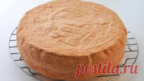 Очень наглядный рецепт бисквита: видео   Четыре вкуса