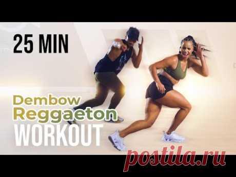 REGGAETON / DEMBOW WORKOUT | PART 2 | 25 MINUTES | - YouTube