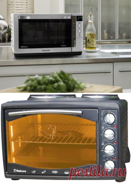 Компактные духовые шкафы: электрические мини духовки