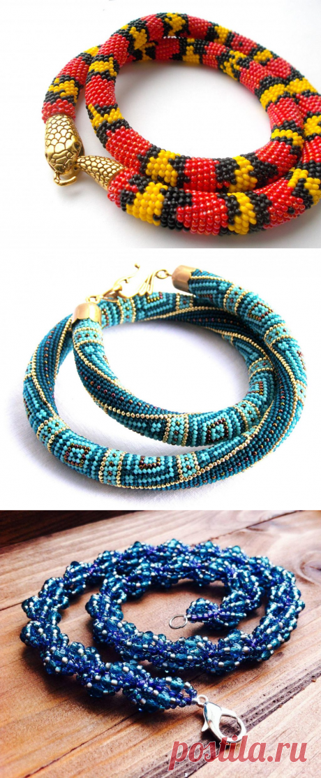 Плетение жгута из бисера для начинающих по схеме