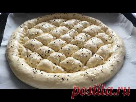 Рамазан пиде-турецкие  лепешки Ramazan pide, a Turkish flatbread
