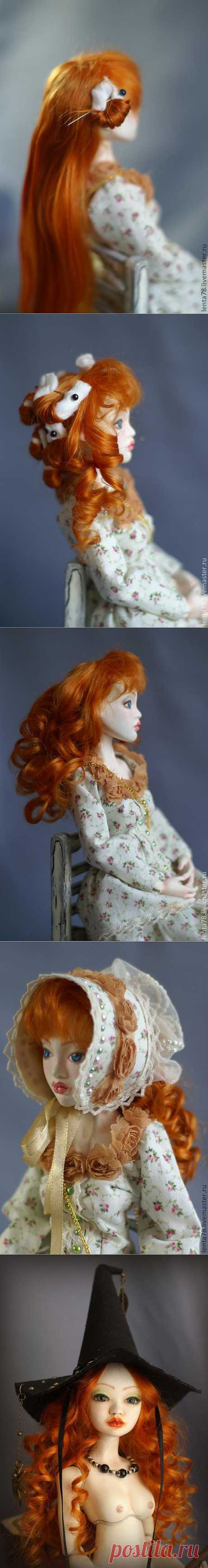 Завивка волос куклы. - Ярмарка Мастеров - ручная работа, handmade