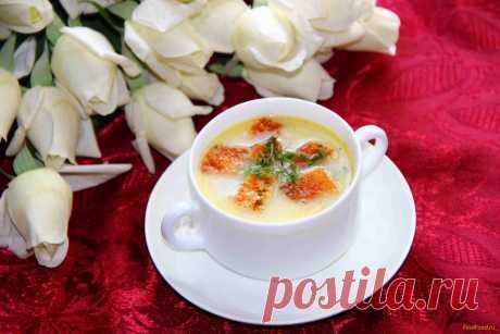 Сырный суп с гренками рецепт с фото Вкусный рецепт приготовления сырного супа с гренками в домашних условиях. Сырный суп с гренками рецепт с фото по шагам
