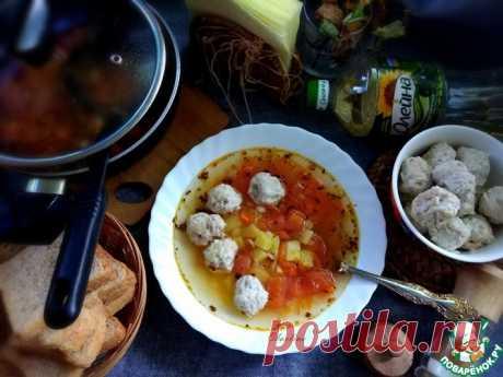 Суп с фрикадельками в итальянском стиле Кулинарный рецепт