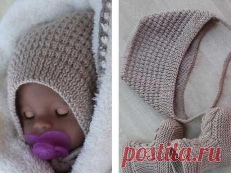 Как связать чепчик для новорожденных: схемы с описанием