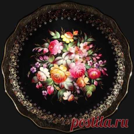 Жостовская роспись: 14 тыс изображений найдено в Яндекс.Картинках