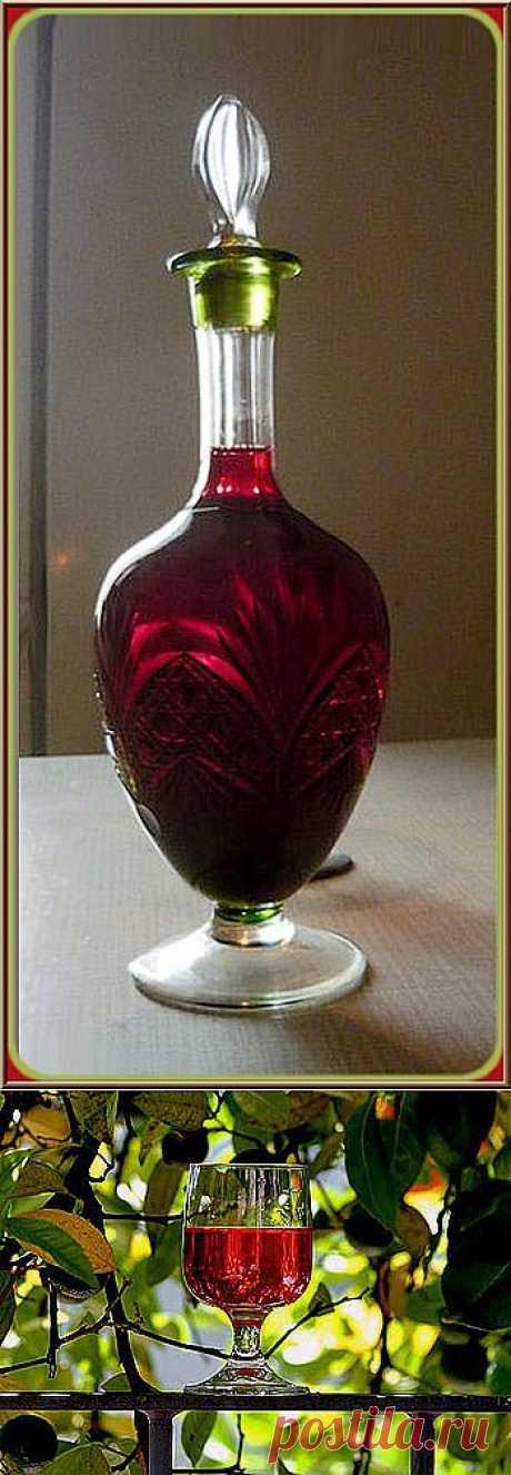 Наливка, настойка, вино из черноплодной рябины!