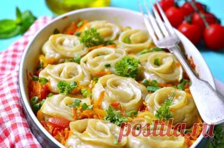 Штрули с курицей и картошкой: пошаговый рецепт | Еда от ШефМаркет | Яндекс Дзен