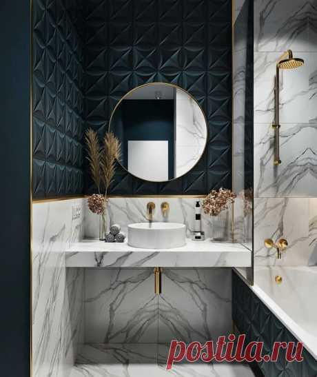 Идея для оформления ванной комнаты  Хотите поделиться своими результатами ремонта? Присоединяйтесь к нашему проекту!