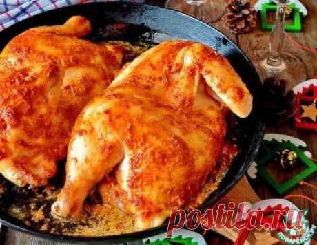 Цыпленок в духовке по-домашнему - кулинарный рецепт
