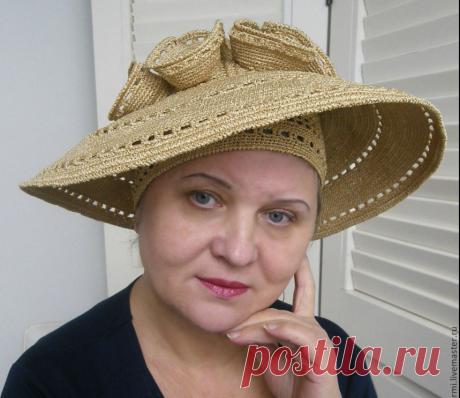 Невероятные шляпки вязаные крючком от Людмилы Орешкиной