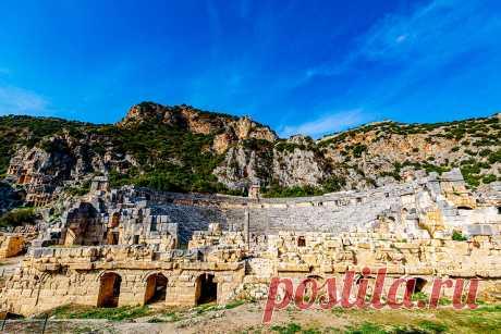 Турция:Достопримечательности курорта - Кемер!