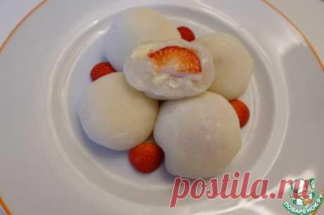 Японский десерт Моти Кулинарный рецепт