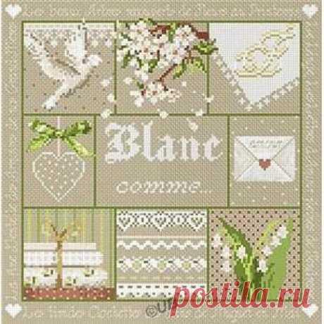 """Blanc comme..."" - Madame la Fee"