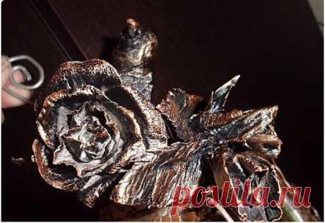 3 способа сделать суперреалистичную розу своими руками   Творим с NyaSkory   Яндекс Дзен