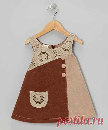 Платья для девочек. Идеи для шитья и немного выкроек