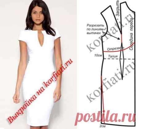 Простые выкройки платьев от Анастасии Корфиати Самые точные и простые выкройки платьев на любой вкус. Модные, стильные, эффектные! Красивое платье обязательно должно быть в вашем гардеробе!
