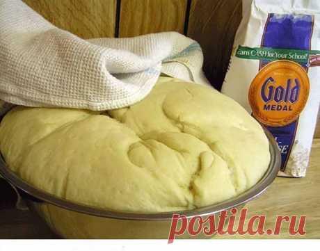Тесто для пирогов, пирожков, пиццы  Настоятельно советую вам обратить внимание на тесто - оно обалденное! При том, что в нём присутствуют дрожжи, оно не требует никаких долгих расстоек. Замешивается буквально в минуты, очень приятное и эластичное. А в готовом виде мягкое, пористое и невозможно вкусное. Его можно использовать в сладкие и несладкие пироги, пирожки и пиццы. Я с ним ещё пеку домашнюю пиццу, не классический тонкий кружок с парой помидорок, а такую пиццу-пирог с...