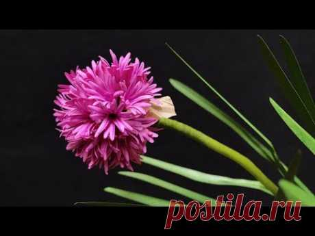 ABC TV   How To Make Chives Paper Flower - Craft Tutorial