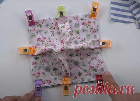 Яркая и креативная идея из ненужных обрезков ткани ...