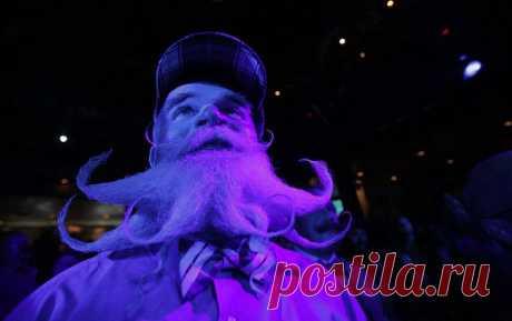 На снимках: US борода и усы чемпионатов 2013