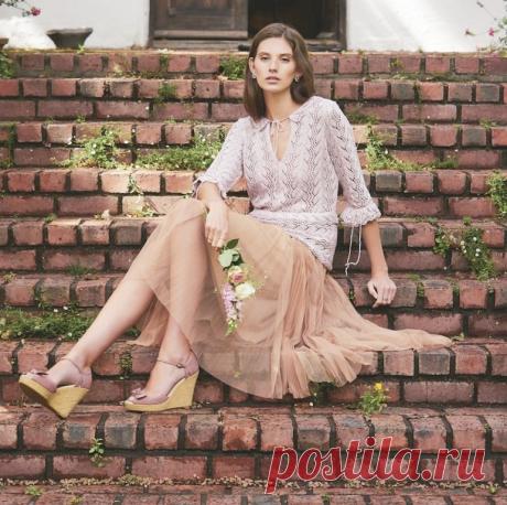 Летняя вязаная мода — черпаем вдохновение! 35 модных моделей   Журнал Ярмарки Мастеров