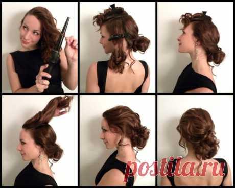 Лёгкая причёска на длинные волосы - своими руками в домашних условиях Быстрые и легкие прически для длинных волос своими руками - пошаговая инструкция и рекомендации для укладки скорых причесок.